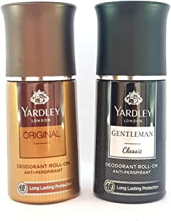 Yardley Gentleman Classic and Deodorant Roll-on 50 ml -Combo of 2