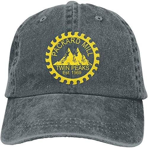 FTTUTY Twin Peaks Packard Mill Baseball-Cap Twill Adjustable Dad-Hat