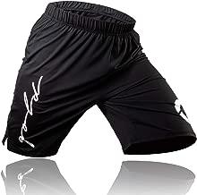 Gold BJJ Jiu Jitsu Shorts - IBJJF Approved No Gi Fight Short - for Grappling, MMA, Wrestling, Muay Thai & Boxing