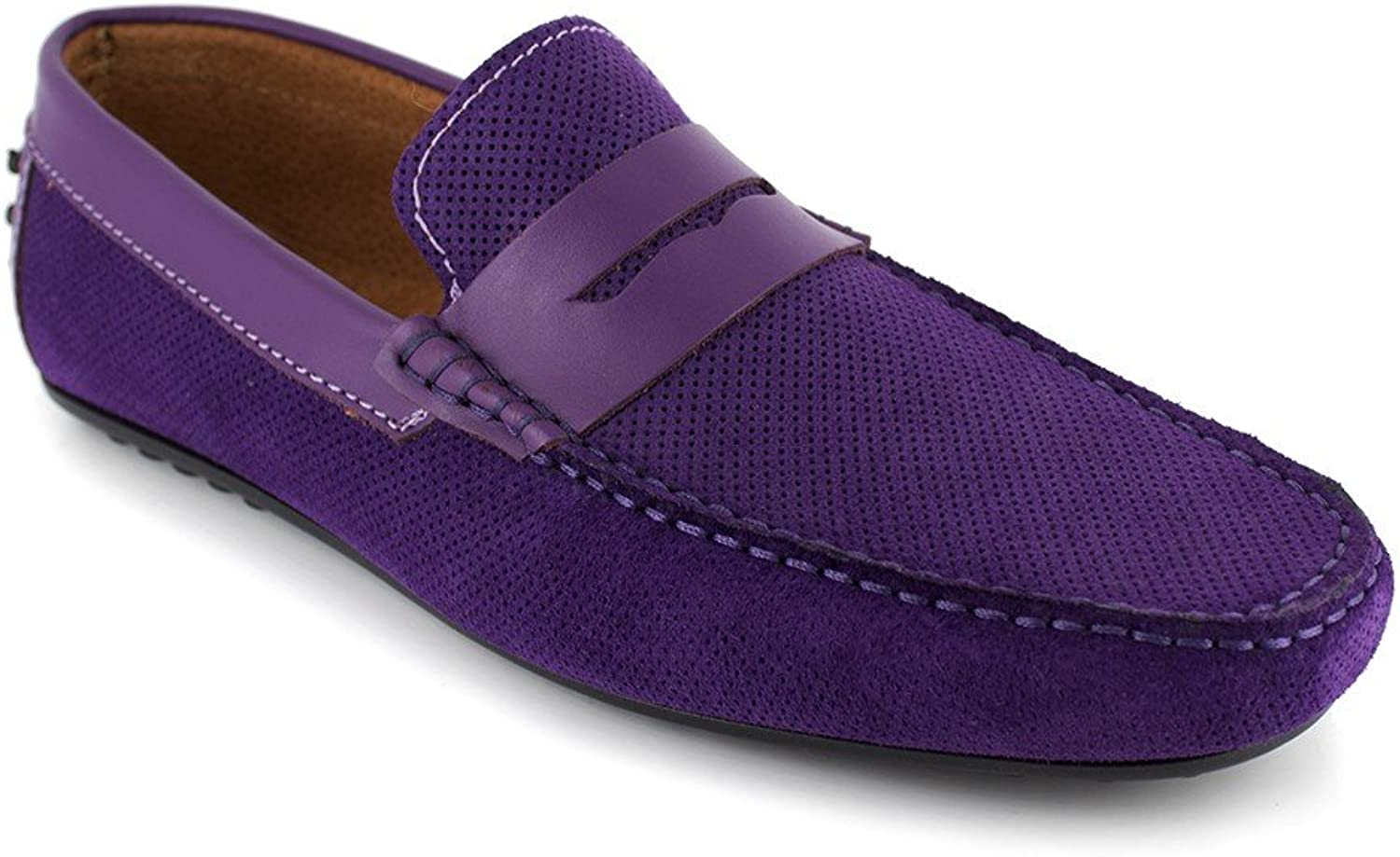 J.Bradford Loafer purple Leather JB-BERFIN