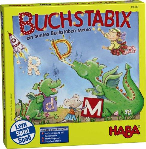 Haba 300143 - Buchstabix, Lernspiel [Spielzeug]
