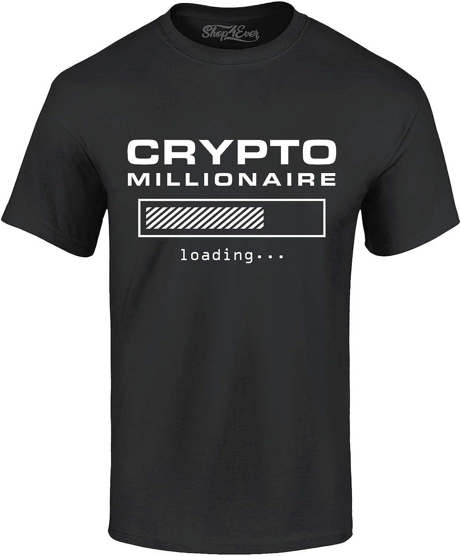 Latest item shop4ever Crypto Millionaire T-Shirt Washington Mall Loading…