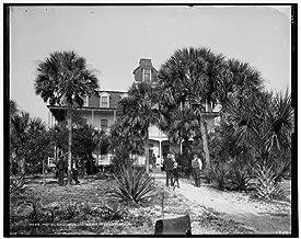 Photo: Hotel Eau Gallie,Indian River,resorts,inns,Florida,FL,Detroit Publishing Co,1880
