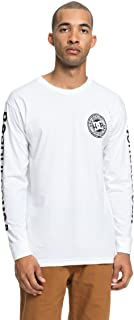 Men's Circle Star Long Sleeve Tee Shirt
