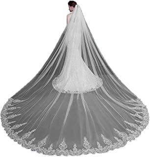 Best cheap cathedral veils Reviews