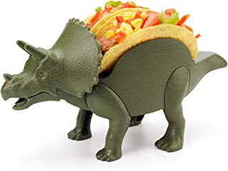 Taco Holder, Amazer Dinosaur Taco Holder Taco Rack Hold Hard or Soft Taco Shells Taco Truck Tray - The Perfect Gift for Kids and Kidults that Love Dinosaurs