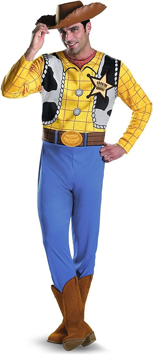 Disguise Men's Oakland Mall Woody Costume X-Large Now free shipping Cowboy Disney