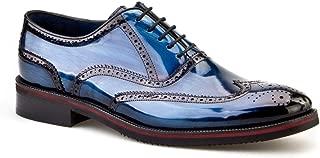Cabani Bağcıklı Erkek Ayakkabı Lacivert Açma Deri