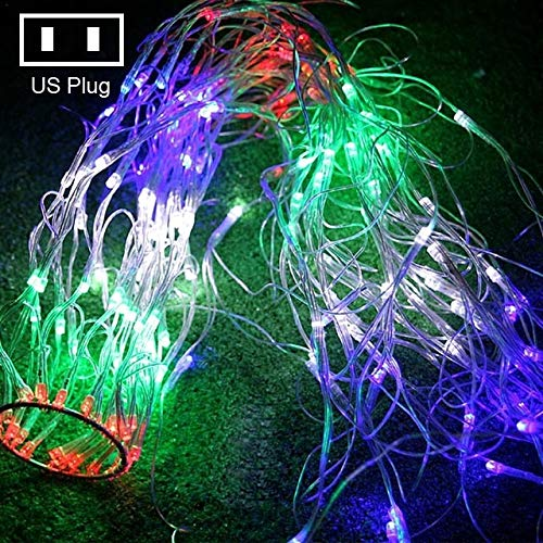Decoratieve verlichting Spinneweb Lamp Slinger van Kerstmis String Christmas Lights Party Fairy Garden Wedding Decoration US Plug decoratieve verlichting