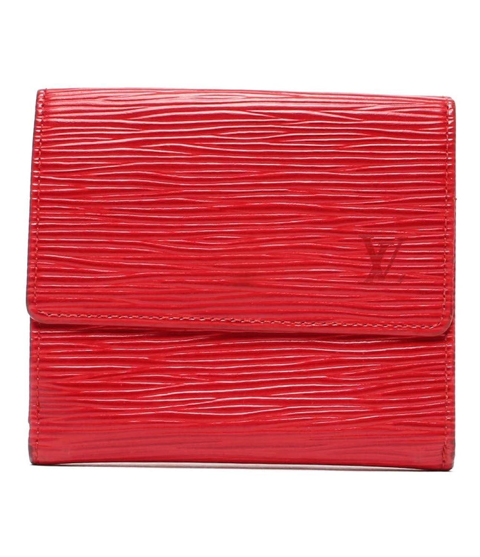 ルイヴィトン 二つ折り財布 ポルトモネ ビエ カルトクレディ エピ M63487 レディース Louis Vuitton 中古