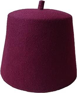 Inzoey Wool Felt Muslim Moroccan Turkish Hats Prayer Fez Style Pakistani Topi Hat
