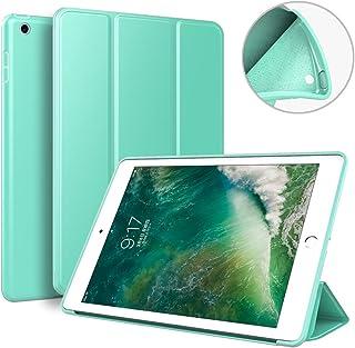 Kenke iPad Mini 4 case 7.9 inch Silicone Soft Anti-Scratch Smart Shell Stand Cover Auto Sleep/Wake iPad Mini 4th Generation Model A1538/A1550 (Mint Green)