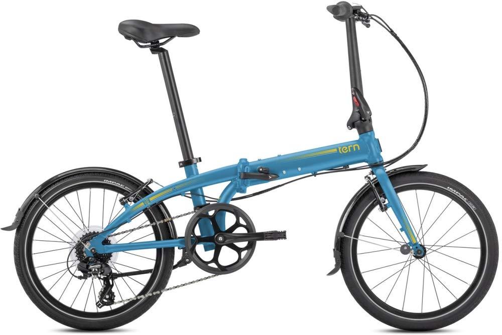 Tern CB19PVCO08HM0YL23 Link C8 - Bicicleta Plegable (8 Marchas, 20 ...