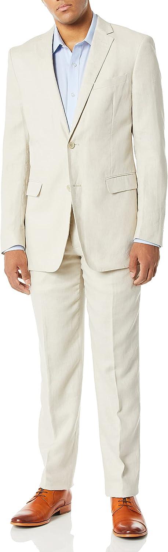U.S. Polo Assn. Mens Men's Linen Suit