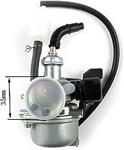 19mm PZ19 Carb Hand Choke Carburetor For Kawasaki KFX 50 70 90 110 ATV Honda Yamaha TaoTao SUNL Coolsports AIM-EX Roketa Kazuma