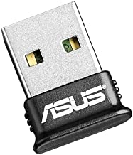 ASUS USB-BT400 USB Adapter w/ Bluetooth Dongle Receiver, Laptop & PC Support, Windows..