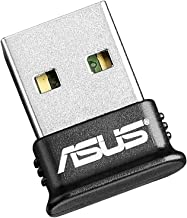 ASUS USB-BT400 USB Adapter w/Bluetooth Dongle Receiver, Laptop & PC Support, Windows..
