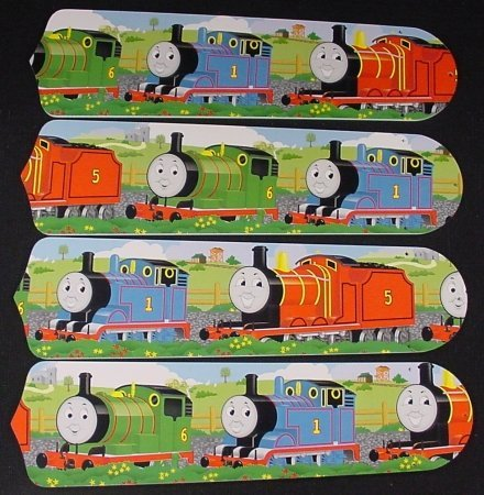 "Thomas the Tank Engine 17"" Ceiling Fan Blades"
