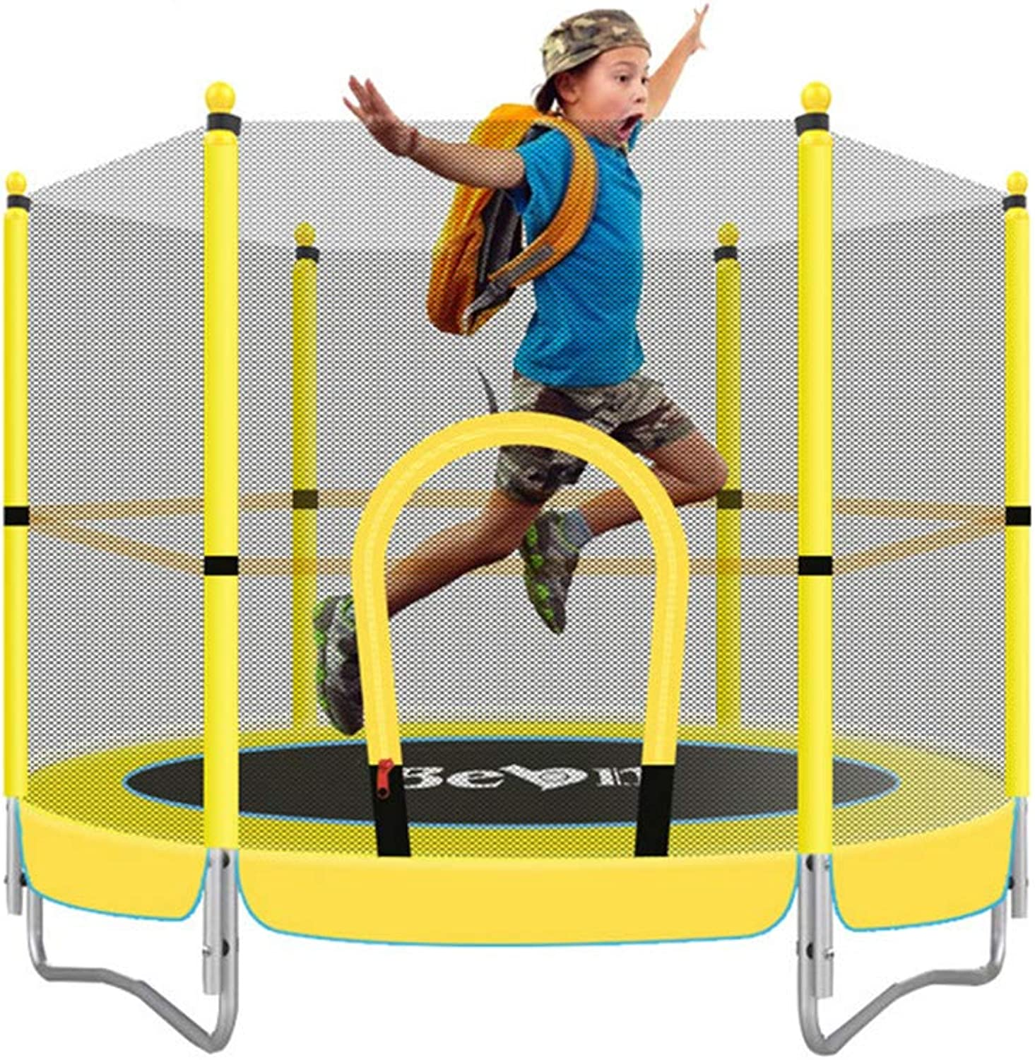 Trampoline for Kids Trampoline with Safety Enclosure Indoor Or Outdoor Trampoline for Kids
