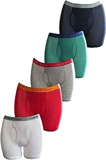 Calvin Klein Underwear 6-Pack Cotton Stretch Boys' Boxer Briefs