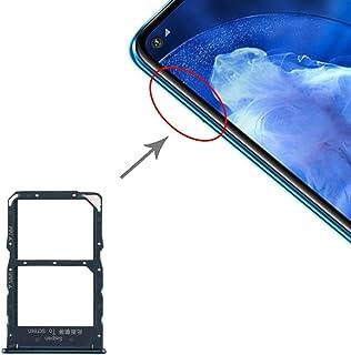ZHANGYOUDE Phone Repair Parts SIM Card Tray + NM Card Tray for Huawei Nova 5z / Nova 5i Pro (Black) (Color : Green)