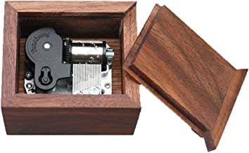 Zelda Music Box Drawer Type Windup Walnut Wood Musical Box Christmax Box,Play Song of Storms from Ocarina of Time