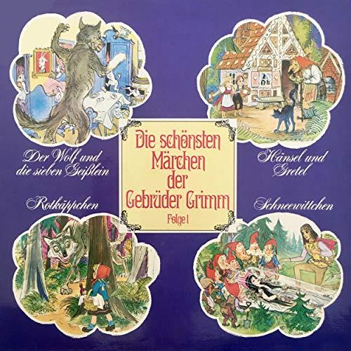 Der Wolf und die sieben Geißlein / Hänsel und Gretel / Rotkäppchen / Schneewittchen cover art