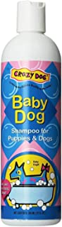 Crazy Dog Scented Pet Shampoo 12 Ounce Pet Cleanser Wash - Choose from 3 Scents(Baby Dog)