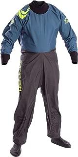 Typhoon Kids Youth Junior Rookie Drysuit Dry Suit Neoprene Seals Grey/Teal. Breathable