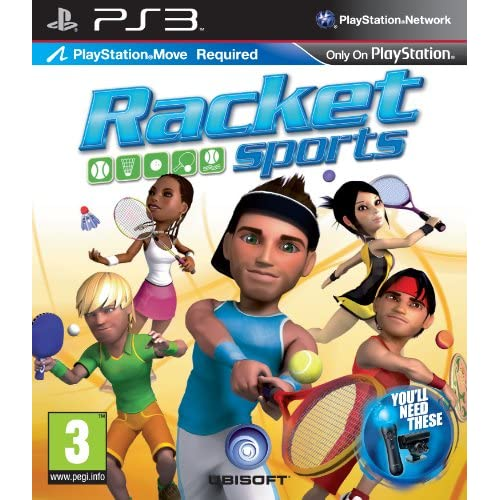 Racket Sports - Move Compatible (PS3) [Edizione: Regno Unito]