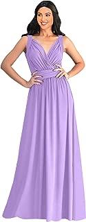 lilac floor length dress
