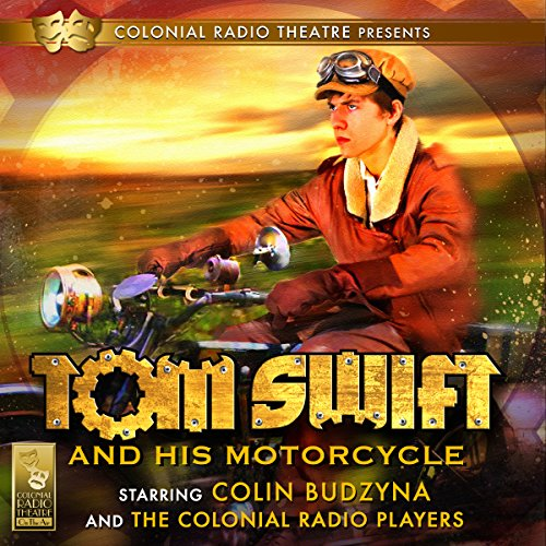 Tom Swift and His Motorcycle audiobook cover art