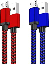 Micro USB Quick Charger Cable 2Pack 10FT Long Android Phone 2.1A Fast Charging Cord for Samsung Galaxy S7 S6 Plus/Edge/Act...