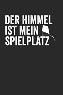 Der Himmel ist mein Spielplatz: Kalender Monatsplaner Familienplaner Planer A5 120 Seiten I Tagebuch I Drachensteigen I Wi...