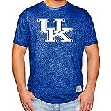 Elite Fan Shop University of Kentucky Wildcats Retro Tshirt Blue - X-Large