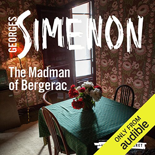 The Madman of Bergerac audiobook cover art