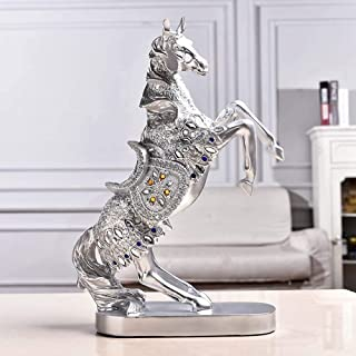 Home Décor Vacated Horses Creative Home Living Room Ornaments Resin Crafts Ornaments Decorations Animal Long 27CM Wide 10C...
