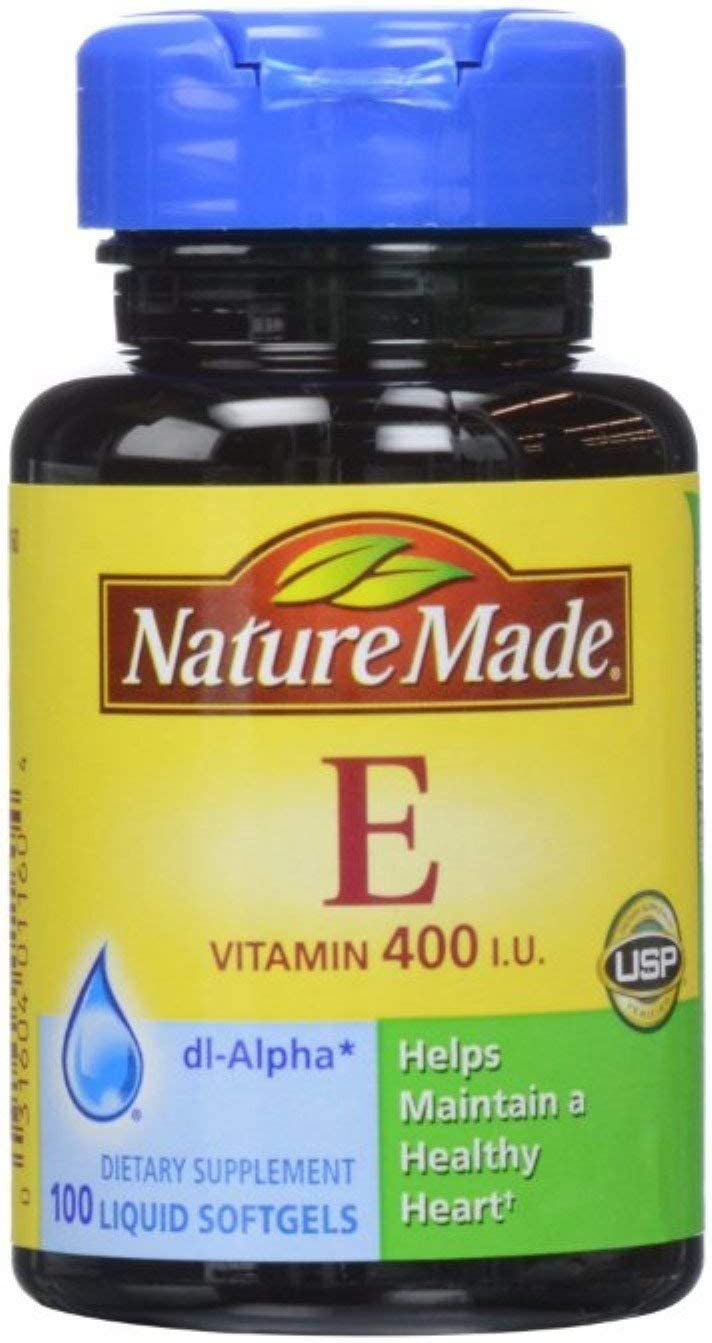Nature Jacksonville Mall Made dl-Alpha Vitamin E 400 IU Pack ea 100 New products world's highest quality popular Softgels 4 of