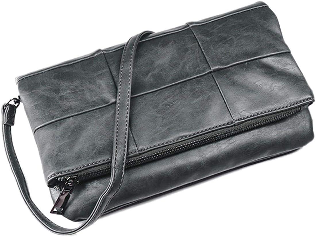 Artwell Woman Soft PU Leather Purse Bag Folding Clutch Wristlet Max 63% OFF Cheap sale