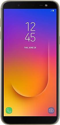 "Samsung Galaxy J6 Infinity (64GB, 4GB RAM) 5.6"" HD+ Display J600G/DS, 4G LTE Dual SIM GSM Factory Unlocked, International Version (Gold)"
