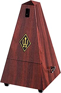 Wittner MW855111 - Metrónomo pirámide, color marrón
