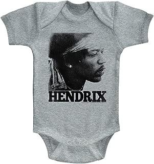 Jimi Hendrix baby tee infant one piece newborn baby t-shirt cute baby rock shirt