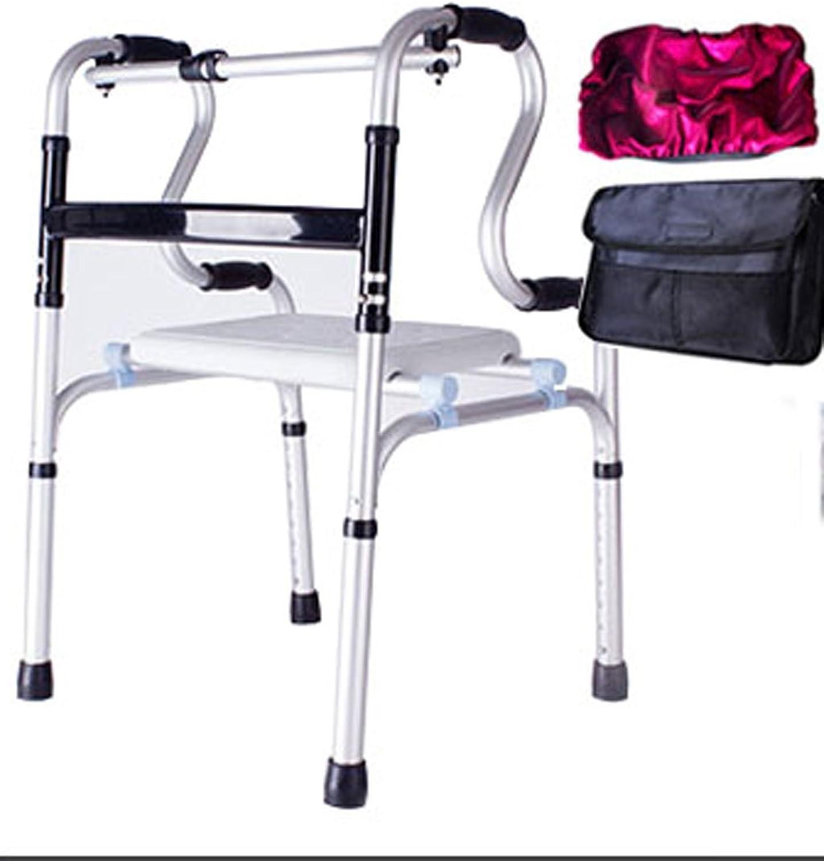 Tu satisfacción es nuestro objetivo Folding Folding Folding chair SHI Xiang Shop Más Viejo Walker blancoo Tamaño  52cm 92cmX45cmX A+ (Color     2)  Tienda 2018