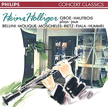 Bellini/Molique/Moscheles: Oboe Concertos