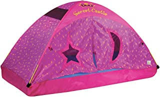 Pacific Play Tents 19720 Kids Secret Castle Bed Tent Playhouse - Twin Size