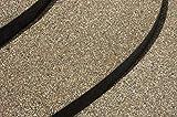 WO-WE Steinteppich SET 25kg Marmorkies + 1,5kg Epoxidharz Bindemittel + Mischeimer | Bunt 1-4mm - 5