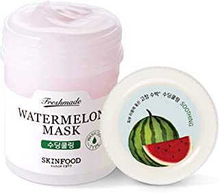 SKIN FOOD Freshmade Watermelon Face Mask 4.6 fl.oz (90ml) - Antioxidant Watermelon Vitamin Wash Off Mask, Helps Minimize P...