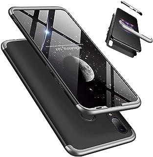 Huawei Honor 10 Lite/P Smart 2019 fodral, Laixin 360° heltäckande PC 3 i 1 skyddande skal med [skärmskydd] anti-repor ultr...