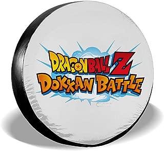 14dadamai Dragon Ball Dokkan Battle Spare Tire Cover Fits SUV Jeep Or Camper RV Accessories All Cars