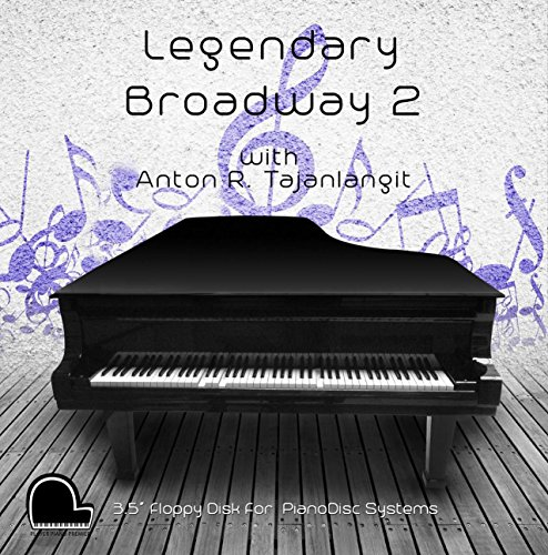 Legendary Broadway 2 - PianoDisc Compatible Player Piano Music on 3.5' DD 720k Floppy Disk